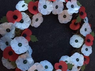 Aylesbury Quakers Place Wreath At Remembrance Sunday Events